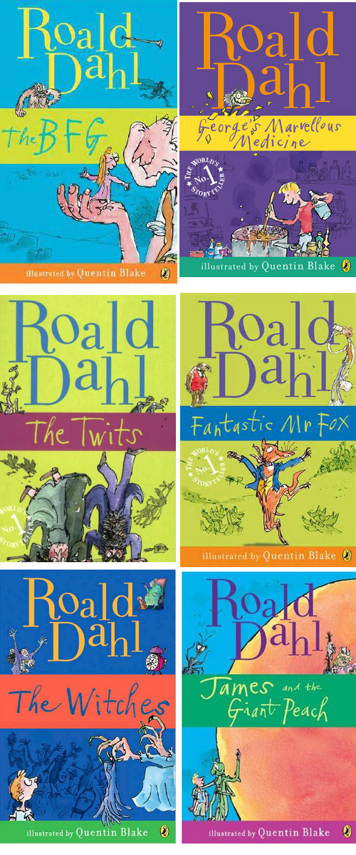 Favorite Roald Dahl Books