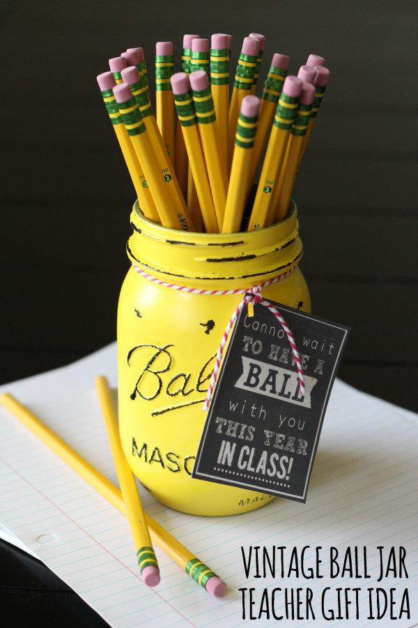 Vintae-Ball-Jar-Teacher Gift