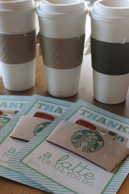 Starbucks Teacher Gifts