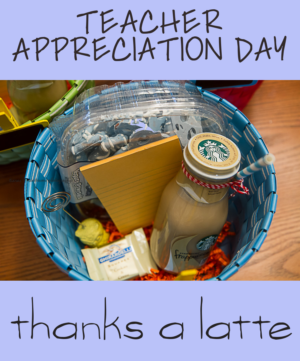 Teacher Appreciation Gifts Day Thanks A Latte Gift