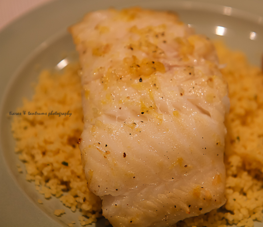 Chicago Seafood Chilean Sea Bass with Lemon Couscous #MyMarianos #shop