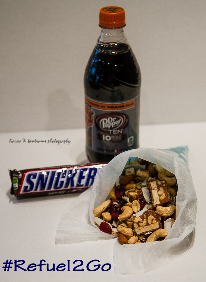 Chocolate Drizzled Trail Mix | Packable Snackables