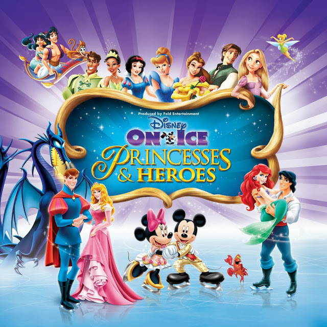 Disney On Ice presents Princesses and Heroes  Playing United Center Sept 10-14, 2014