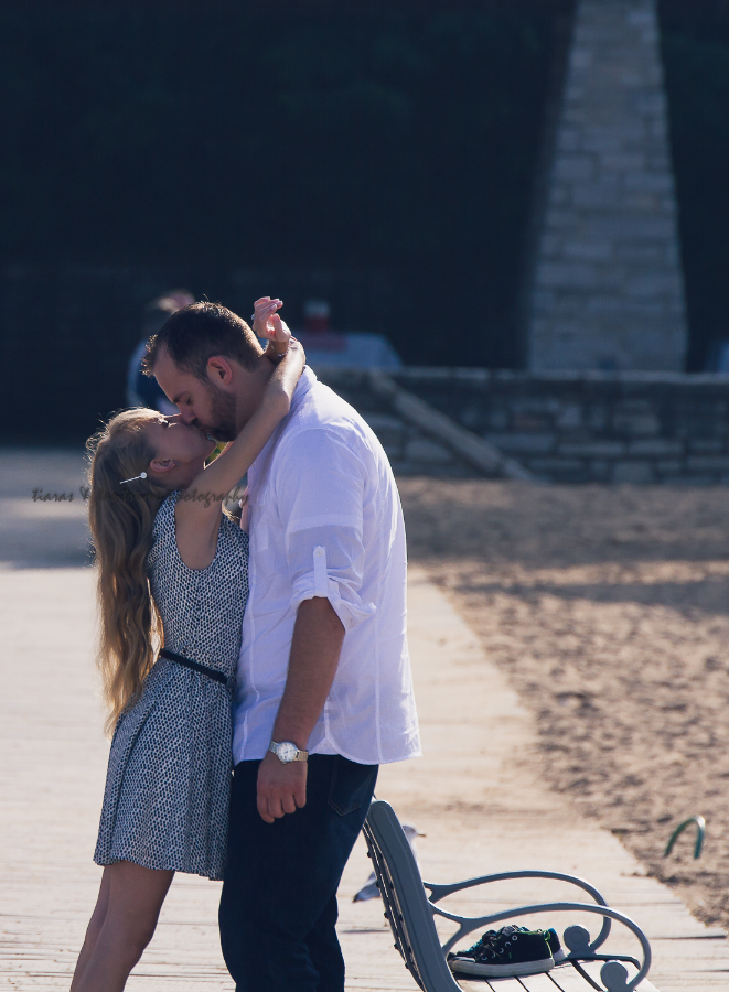 Glencoe Beach Engagement Photography