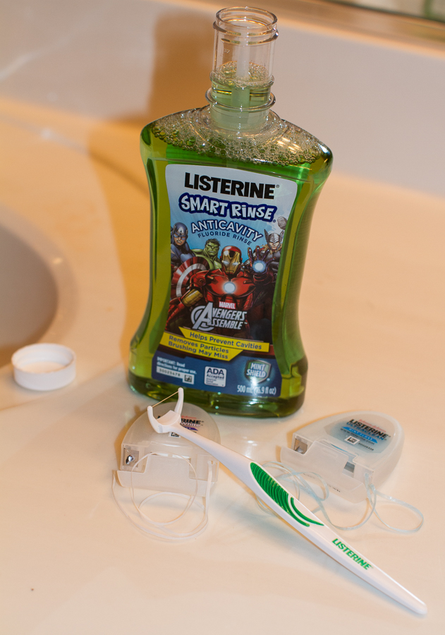 Herioc Habits with LISTERINE
