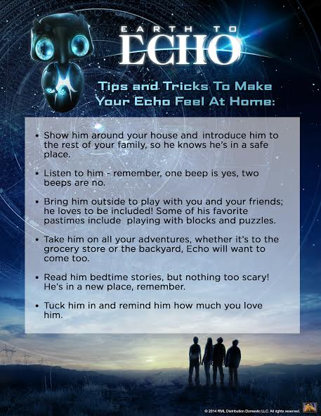 Earth to Echo Adoption Tips