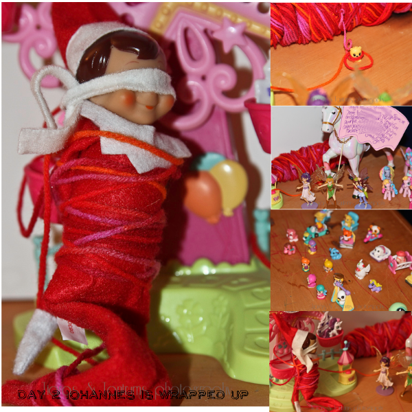 Elf on the Shelf Ideas #ElfontheShelf