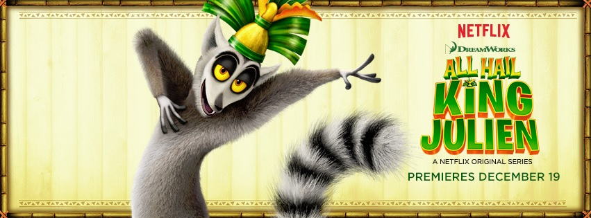 All Hail King Julien NetFlix #StreamTeam