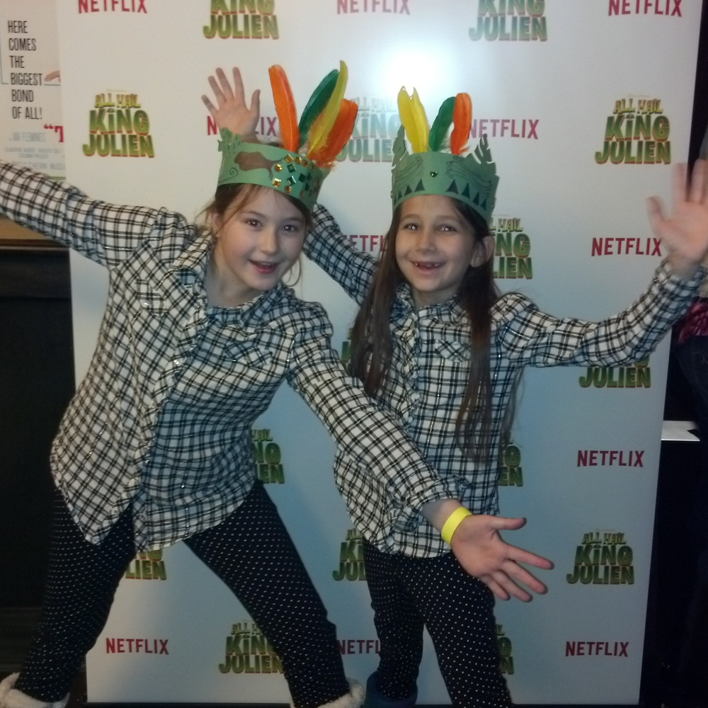 All Hail King Julien NetFlix Screening Party #StreamTeam