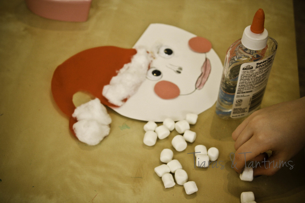 Kid Craft: Santa Claus Paper Craft