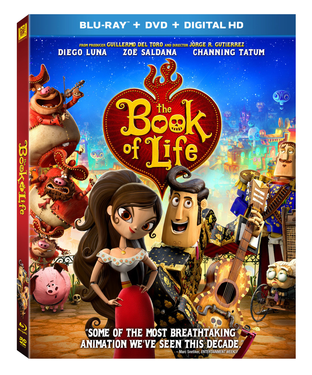 Book of Life DVD Giveaway #BOLInsiders