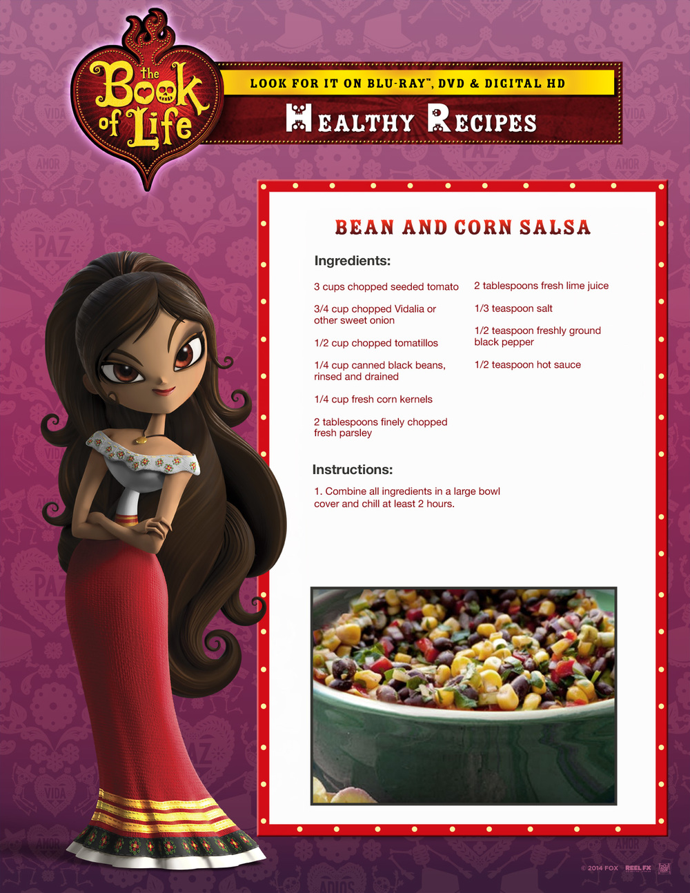 Book of Life Activity Sheets #BOLInsiders