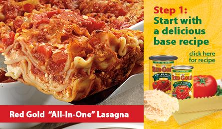 Red Gold Skinny Lasagna Recipe #LaurasLeanBeef