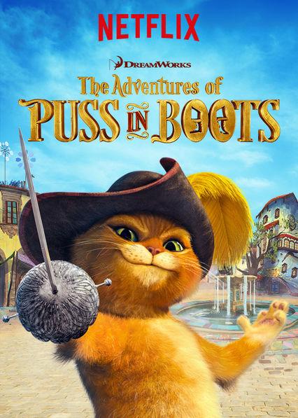 Netflix Puss in Boots #StreamTeam