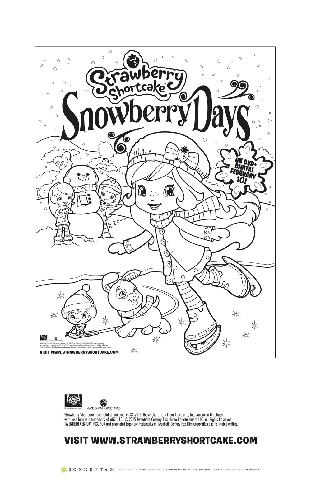 Strawberry Shortcake: Snowberry Days DVD #SnowberryDays