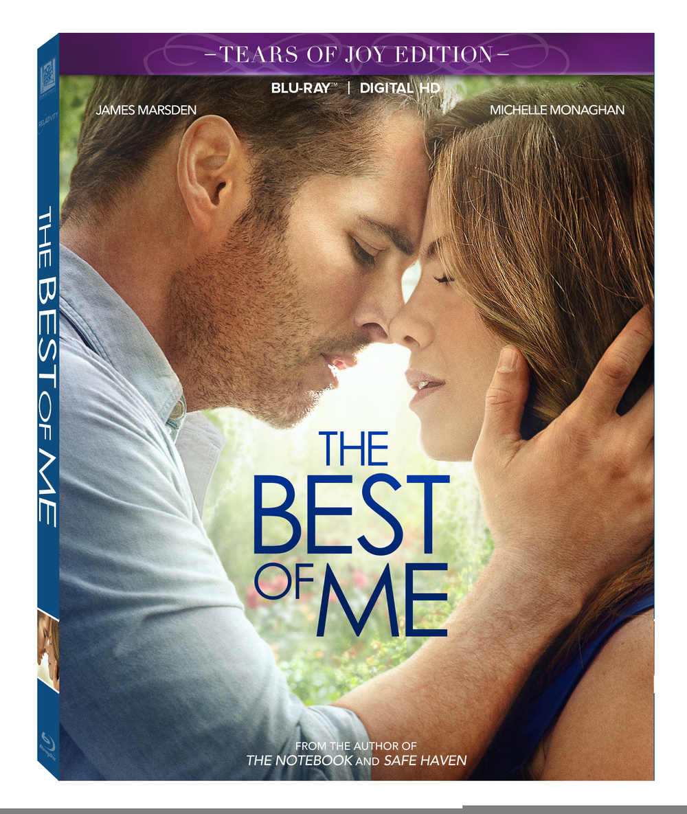 The Best of Me is coming to Blu-ray and DVD on February 3rd! #BestOfMeInsiders