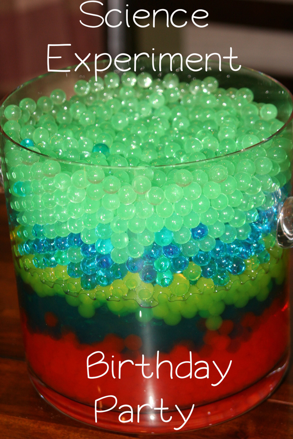 Science Experiment Birthday Party