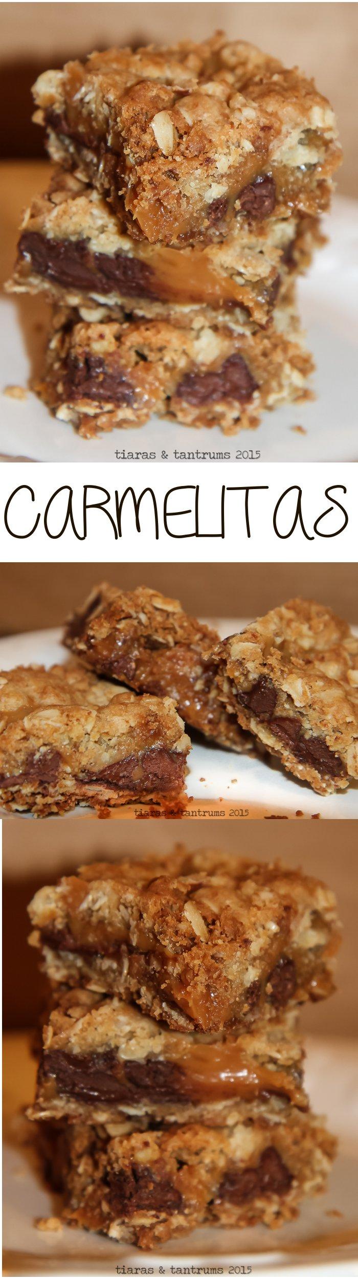 Chocolate Caramel Oatmeal Bars AKA: Carmelitas