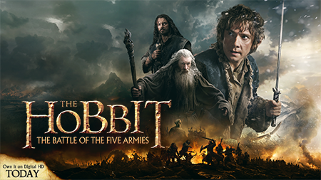 The Hobbit The Battle of The Five Armies Digital Giveaway!