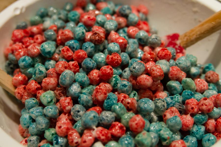 Cap'n Crunch All Berries Krispie Bars Recipe