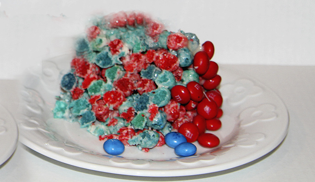 Cap'n Crunch All Berries Krispie Bars Recipe