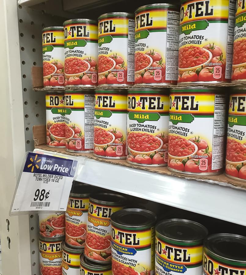Great Savings on RO*TEL at Walmart! #JustAddRotel