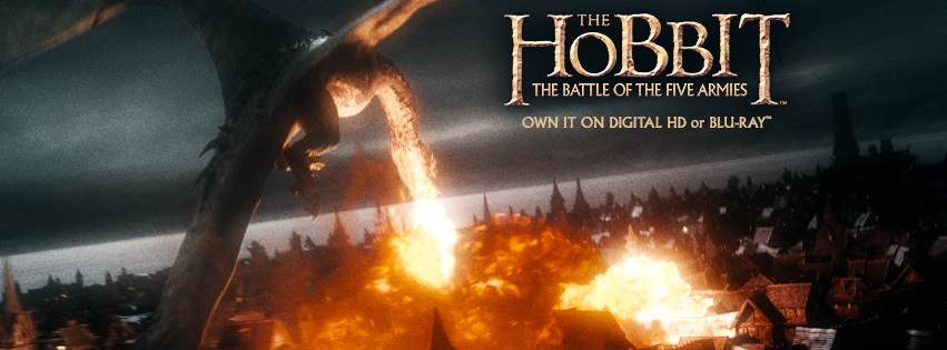 Giveaway - The Hobbit The Battle of The Five Armies DVD #TheHobbit