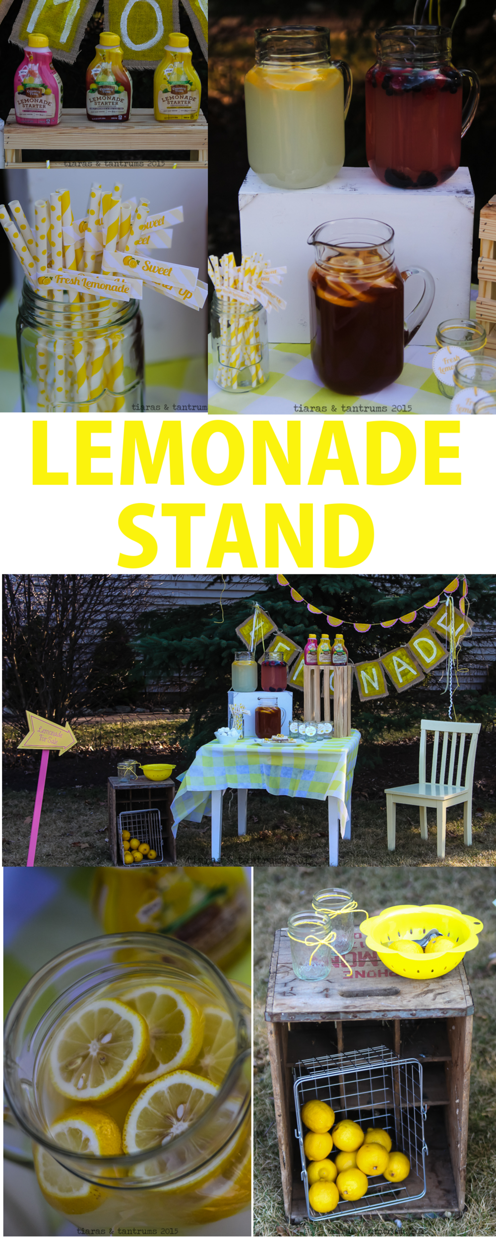 Simple Sweet Lemonade Mini Sessions with Country Time Starters #PourMoreFun