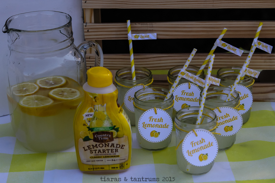 Simply Sweet Lemonade Mini Sessions with Country Time Lemonade Starters #PourMoreFun