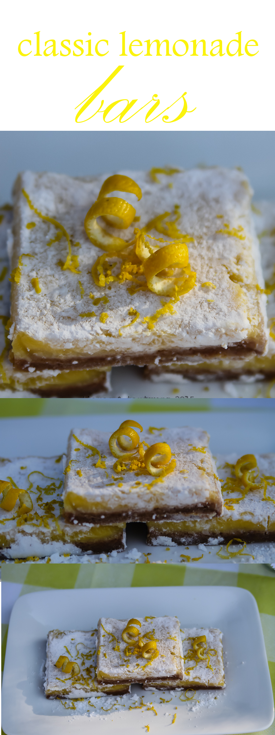 Classic Lemonade Bars Recipe