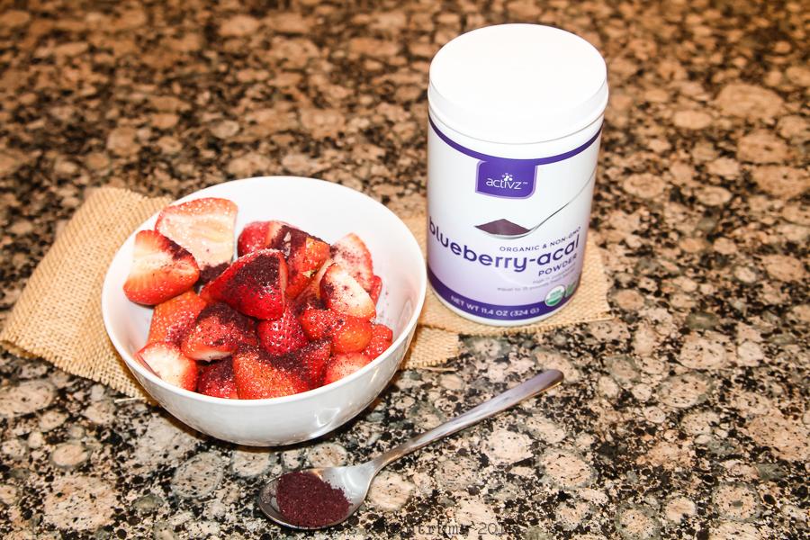Organic Activz Blueberry-Acai Powder
