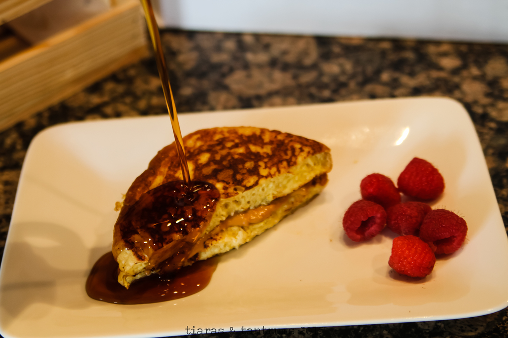 Peanut Butter Stuffed French Toast Recipe
