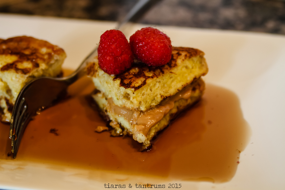Peanut Butter Stuffed French Toast — Tiaras & Tantrums