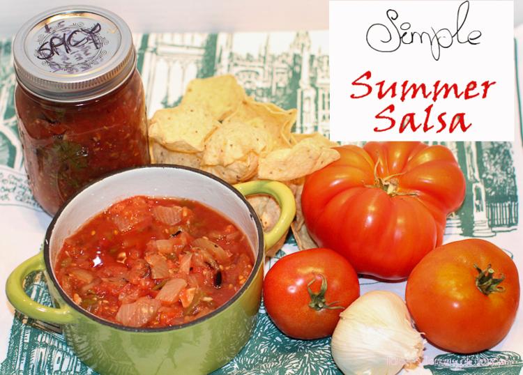 Simple Summer Salsa