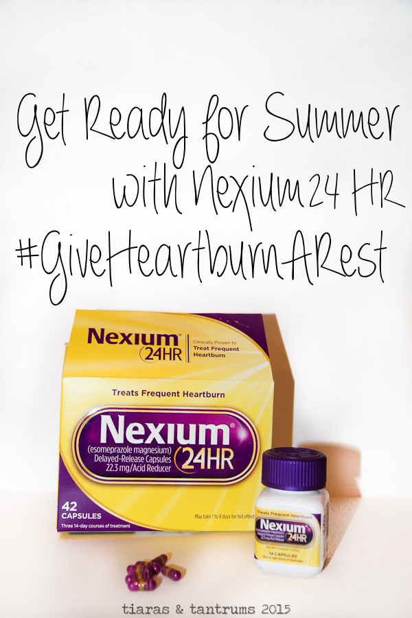 Get Ready for Summer with Nexium #GiveHeartburnARest #CollectiveBias