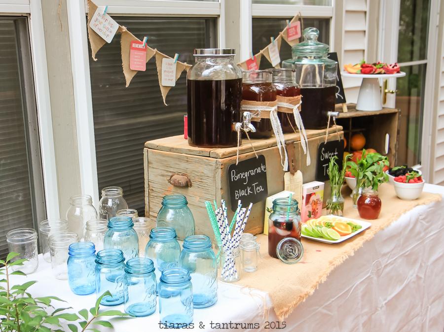 Summer ENTERTAINING with Iced Teas + tips for crafting a great iced tea #MeAndMyTea