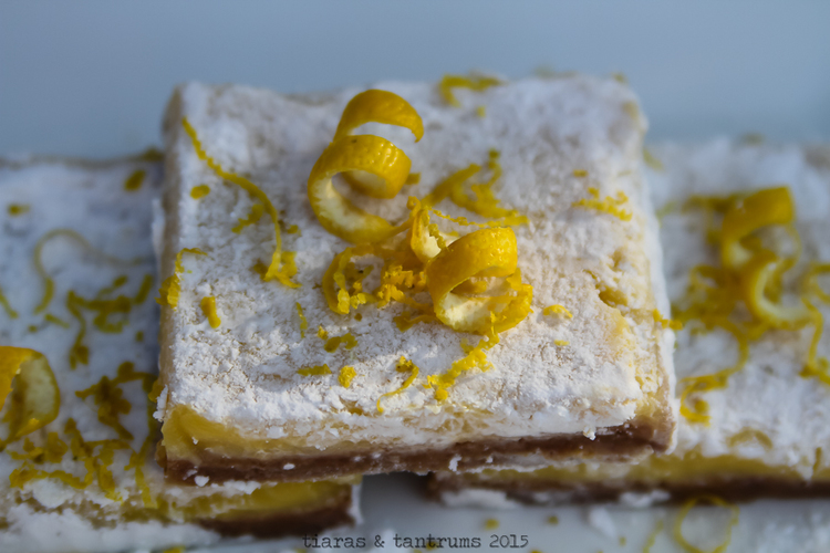 CLASSIC LEMONADE BARS