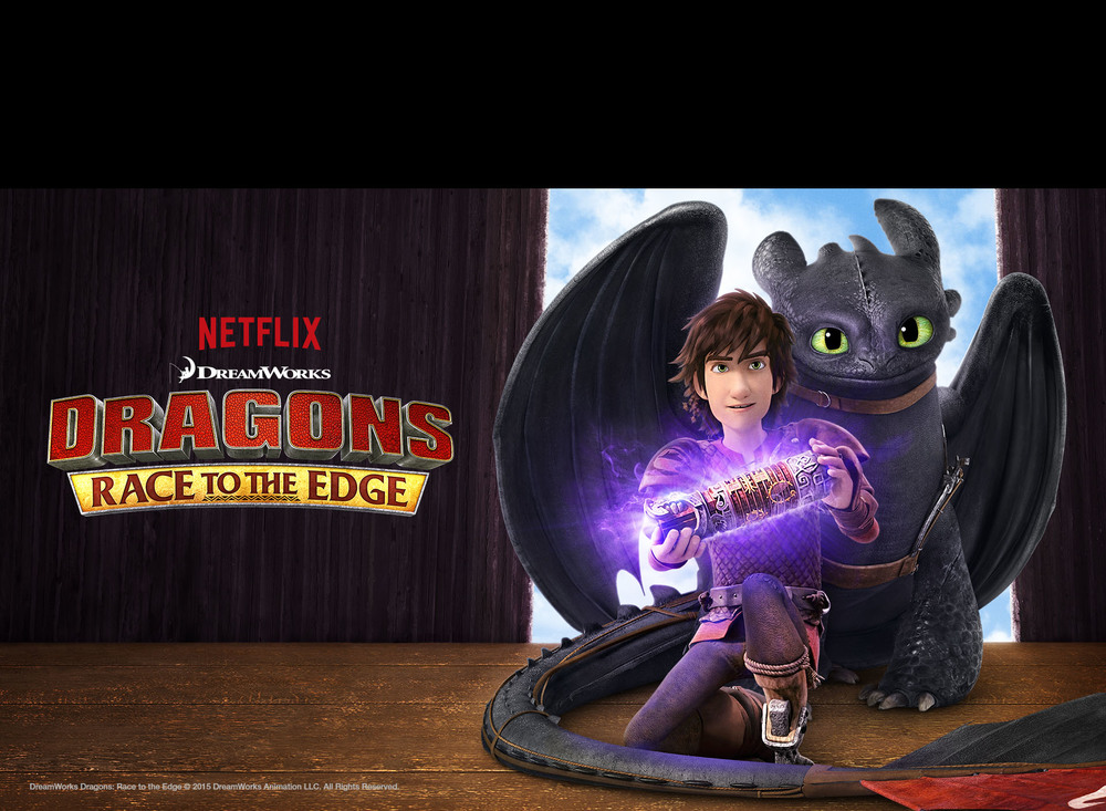 Dragons: Race to the Edge #Netflix
