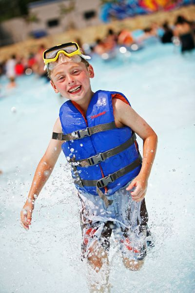 Magic Waters Waterpark Family FUN in the Summer