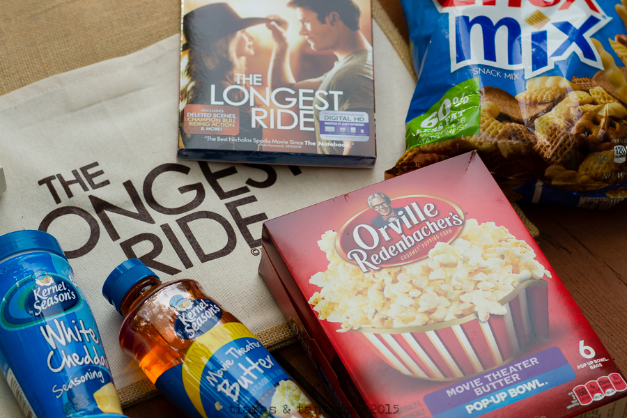 The Longest Ride Date Night Snacks