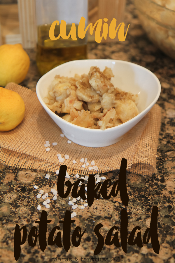 Cumin Baked Potato Salad