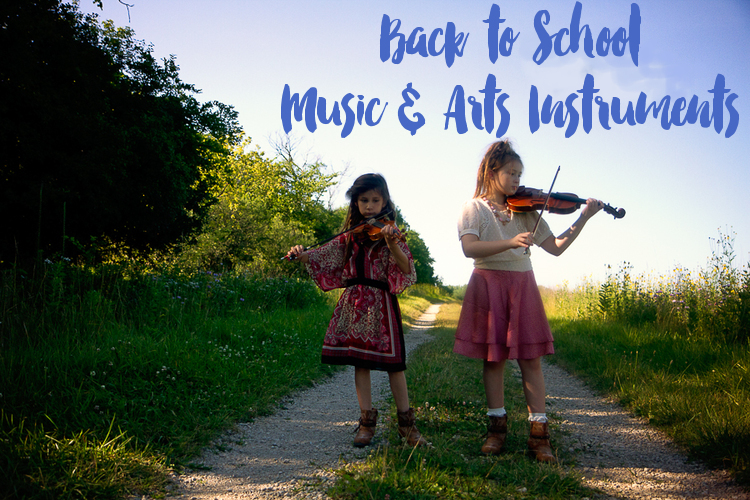 Back to School Music & Arts Instruments
