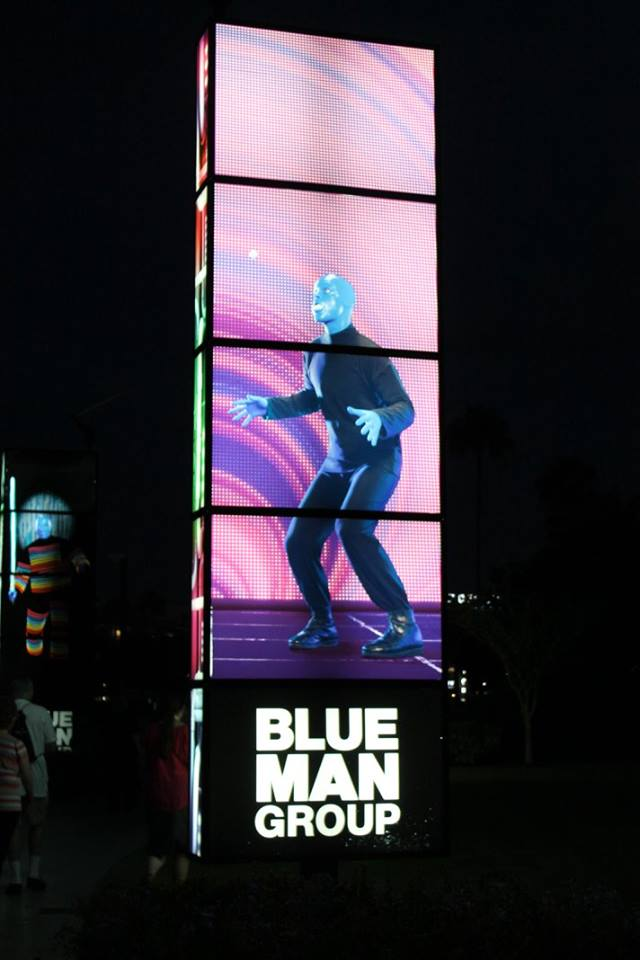 Blue Man Group at Universal Studios Orlando #FamilyForward