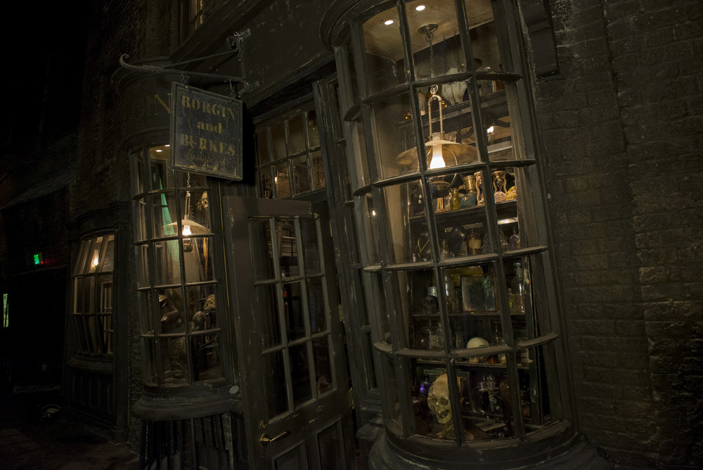 The Wizarding World of Harry Potter Diagon Alley #FamilyForward