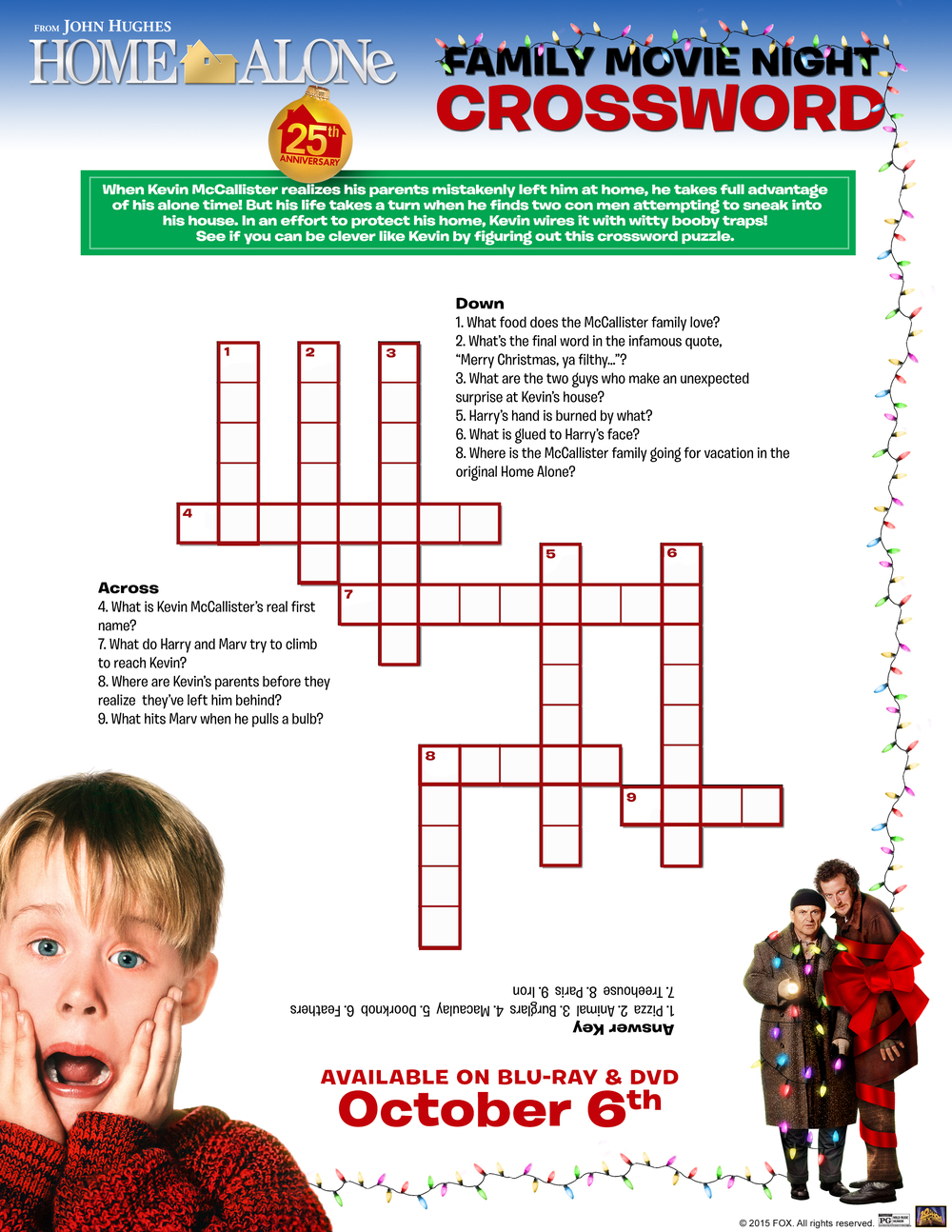Home Alone 25th Anniversary Printable  #HomeAloneInsiders