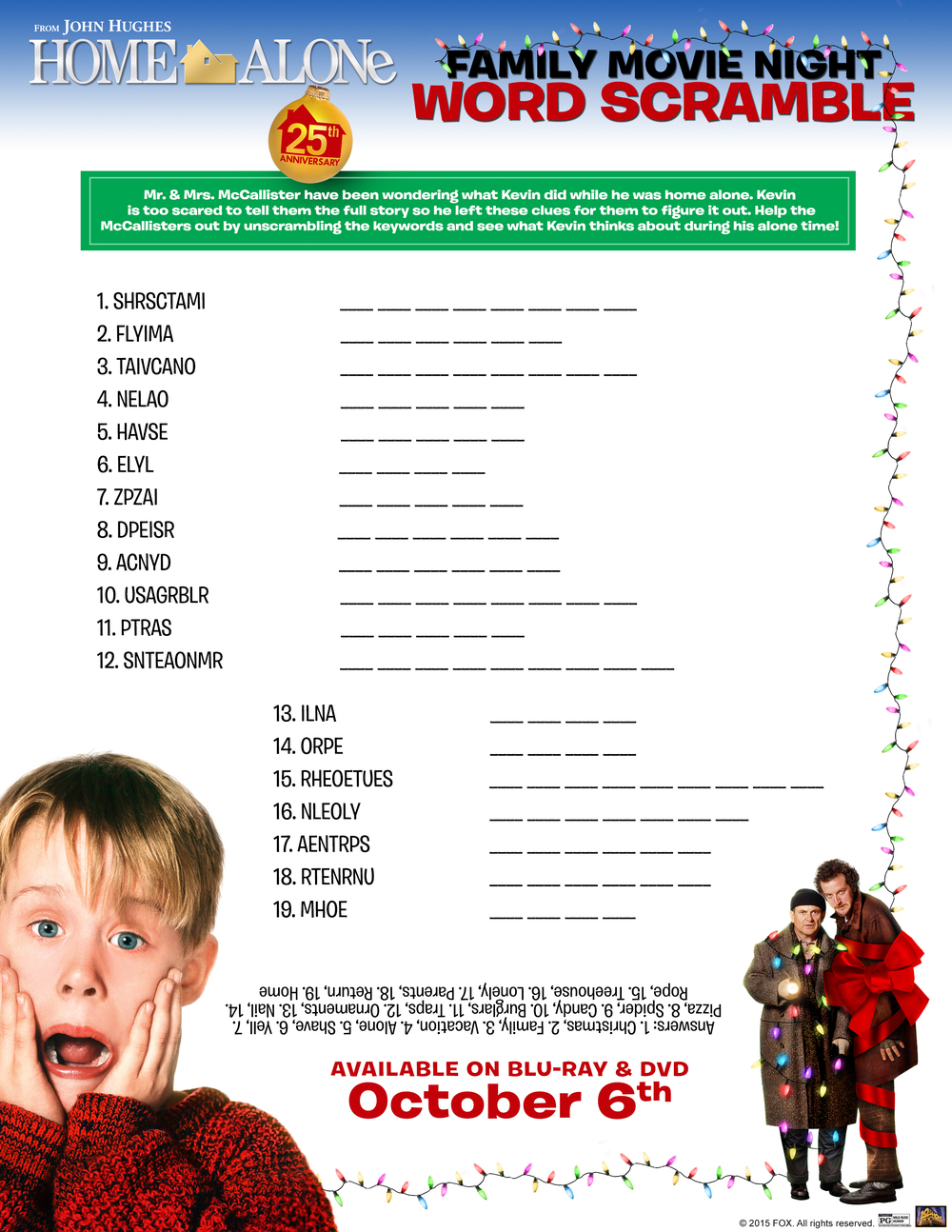 Home Alone 25th Anniversary Gift Set (Giveaway) #HomeAloneInsiders