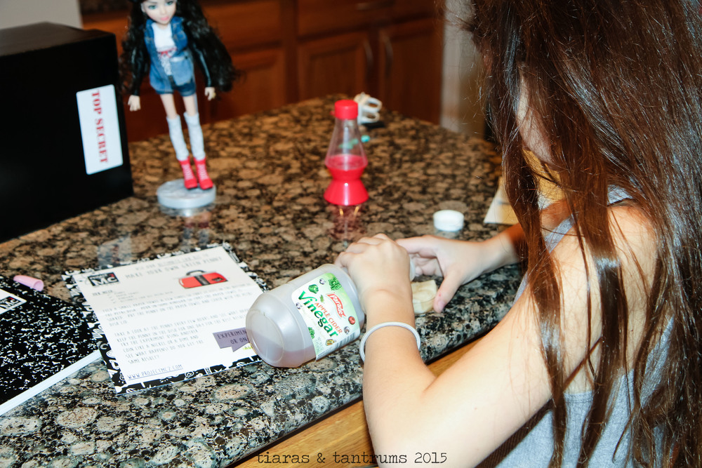 S.T.E.M. Project Mc² Science experiments