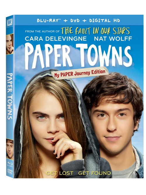 PAPER TOWNS DVD {Giveaway}