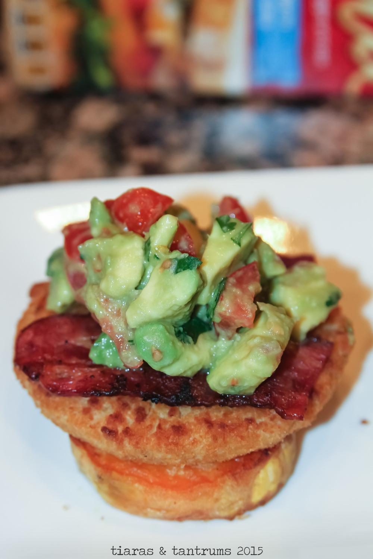 Chicken Sweet Potato Burger with Guacamole {Recipe}