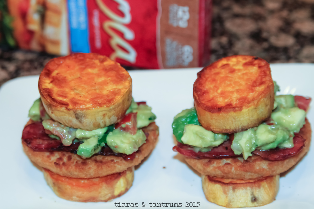 Chicken Sweet Potato Burger with Guacamole {Recipe} #SmarterTreats